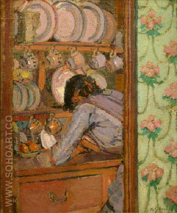 Shopping List 1912 - Harold Gilman reproduction oil painting