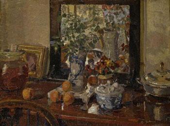 Still Life - Harold Gilman reproduction oil painting