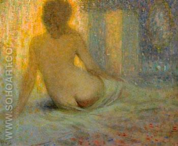 Nude - William Henry Clapp reproduction oil painting