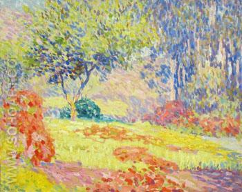 Sunlit Glade - William Henry Clapp reproduction oil painting