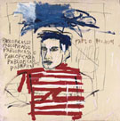 Untitled Picasso - Jean-Michel-Basquiat