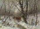 Jager Im Winterwald 1933 - Desire Thomassin