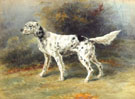 An English Setter in a Landscape - Edmund Henry Osthaus reproduction oil painting
