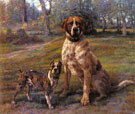 Good Friends - Edmund Henry Osthaus reproduction oil painting