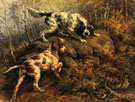 Pointer Setter and Grouse - Edmund Henry Osthaus