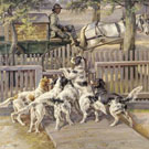 Ready To Go - Edmund Henry Osthaus reproduction oil painting