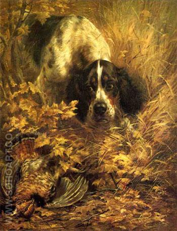 Retrieving - Edmund Henry Osthaus reproduction oil painting