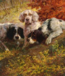 Three Setters on the Scent - Edmund Henry Osthaus