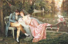 A Secret Liaison - Frederic Soulacroix reproduction oil painting