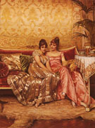 Confidences - Frederic Soulacroix reproduction oil painting