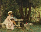 Dare I - Frederic Soulacroix reproduction oil painting