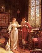 La Demande en Mariage - Frederic Soulacroix reproduction oil painting