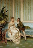 La Proposition - Frederic Soulacroix reproduction oil painting