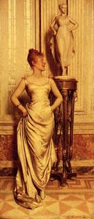 La Sortie - Frederic Soulacroix reproduction oil painting