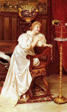 Le Peroquet Favori - Frederic Soulacroix reproduction oil painting