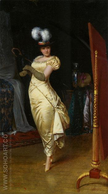 Preparing for the Ball - Frederic Soulacroix reproduction oil painting