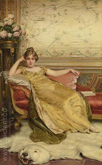Resting - Frederic Soulacroix reproduction oil painting