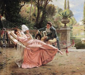 The Proposal - Frederic Soulacroix reproduction oil painting