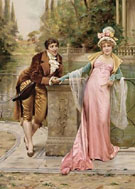 The Proposal A - Frederic Soulacroix reproduction oil painting