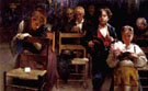 In Chiesa - Gaetano Esposito reproduction oil painting