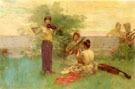 Arcadia - Henry Siddons Mowbray reproduction oil painting