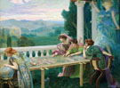 Le Destin 1896 - Henry Siddons Mowbray reproduction oil painting