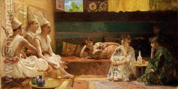 The Calenders 1889 - Henry Siddons Mowbray reproduction oil painting