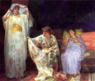 The Harem - Henry Siddons Mowbray reproduction oil painting