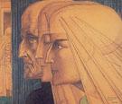 Bezonkenheid Meditatie Vuur 1923 - Jan Toorop
