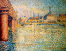Bridge in London Sun - Jan Toorop reproduction oil painting