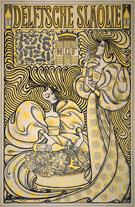 Delftsche Slaolie 1894 - Jan Toorop