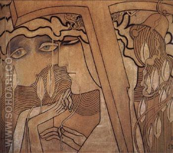 Desire and Statisfaction - Jan Toorop reproduction oil painting