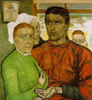 Faith and Work 1902 - Jan Toorop reproduction oil painting