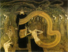 Fatalism 1893 - Jan Toorop reproduction oil painting