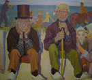 Old Men by the Sea - Jan Toorop