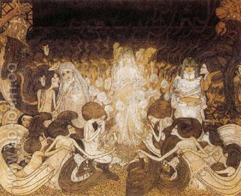 The Three Brides - Jan Toorop reproduction oil painting
