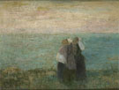 Vrouwen Aan Zee c1885 - Jan Toorop