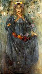 Autumn Flowers c1895 - Lovis Corinth