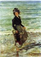 Charlotte Berend Corinth Wading 1902 - Lovis Corinth