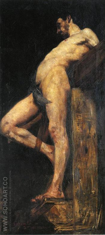 Crucified Thief 1883 - Lovis Corinth reproduction oil painting