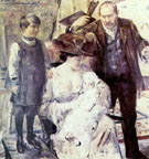 Der Kunstler und Seine Familie Familienportrat 1909 - Lovis Corinth reproduction oil painting