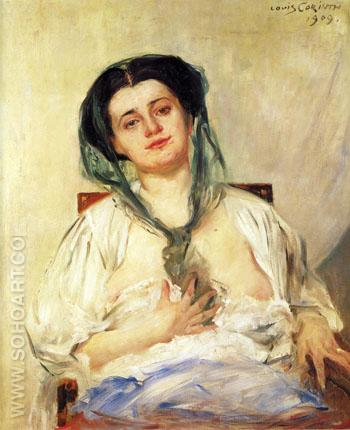 Donna Gravida 1909 - Lovis Corinth reproduction oil painting