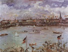 Emperors Day in Hamburg - Lovis Corinth reproduction oil painting