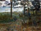 Fishermens Cemetery at Nidden 1893 - Lovis Corinth