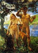 Paradise c1911 - Lovis Corinth