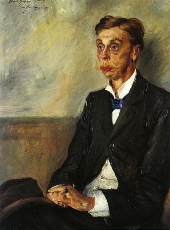 Portrait of Eduard Count Keyserling 1900 - Lovis Corinth reproduction oil painting