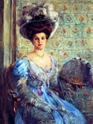 Portrait of Eleonore von Willke Countess Finkh 1907 - Lovis Corinth