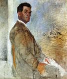 Portrait of Franz Heinrich Corinth 1888 - Lovis Corinth