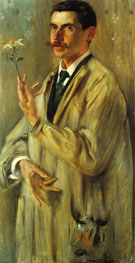 Portrait of the Painter Otto Eckmann 1897 - Lovis Corinth reproduction oil painting