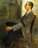 Portrait of The Painter Walter Leistilow 1893 - Lovis Corinth